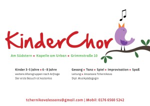 Kinderchor Flyer-1